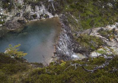 Bobří hráz v Patagonii